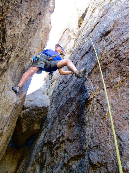 Rock Climbing Photo: Quasi awkward start of RCM