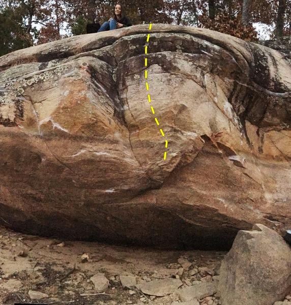 Rock Climbing Photo: The Kraken