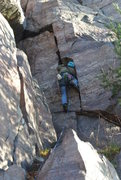 "Rock Climbing Photo: Doug not ""work"" working but definitely g..."