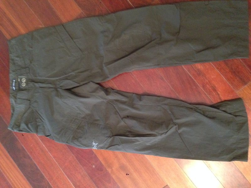 Arcteryx rampart pants 32x30 average conditions. A couple small burn holes. $20