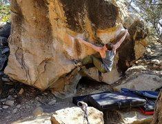 Rock Climbing Photo: Gabe on Self Service