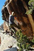 Rock Climbing Photo: Gabe on Pocket Rocket