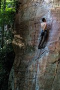 Rock Climbing Photo: Defy, 10a.