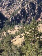 Rock Climbing Photo: The no-longer Red House.