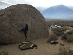 Rock Climbing Photo: Bishop CA