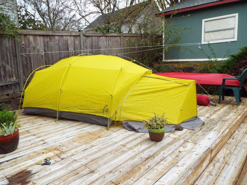 Sierra Designs Convert 3<br> 3 person 4 season tent!