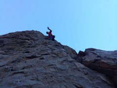 Rock Climbing Photo: Mike Arechiga on, Muppet Show. 5.8