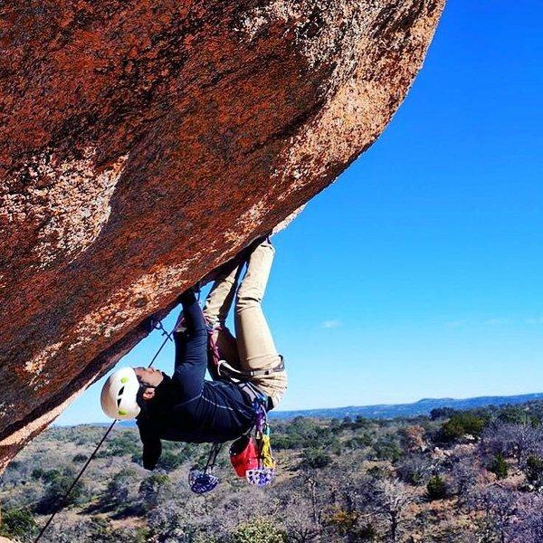 Fred on Rock Clark on Freshman Mountain