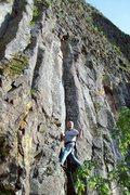 Rock Climbing Photo: Mike Arechiga on, D C Angel Cat. 5.10b