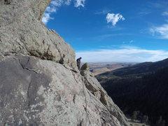 Rock Climbing Photo: Arthur's South face (near Right of Passage).