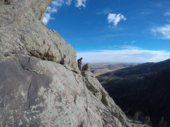 Rock Climbing Photo: South Face, east side.