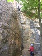 Rock Climbing Photo: Barn Bluff Wisconsin