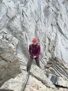 Rock Climbing Photo: Mt. Conness NorthridgeThe Wifie wondering why see ...
