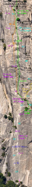 Rock Climbing Photo: SoY rap route.
