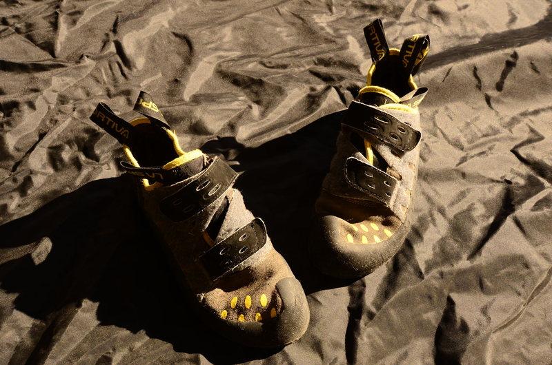 Rock Climbing Photo: lasportiva Tarantula shoes