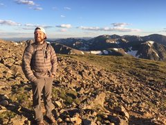 Rock Climbing Photo: Mount Audubon, Colorado 2016