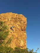 Rock Climbing Photo: Jerry on Little Jerry!