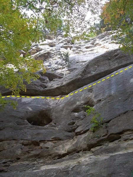 Rock Climbing Photo: Hail of a Traverse