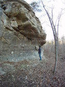 Rock Climbing Photo: Sandstone exposure