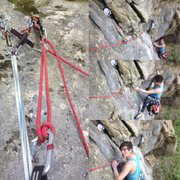Rock Climbing Photo: Check out the belay