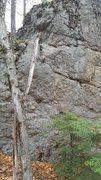 Rock Climbing Photo: Unnamed Arete