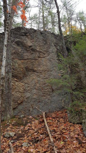 Rock Climbing Photo: Unnamed Face