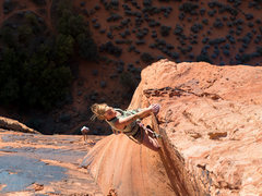 Rock Climbing Photo: Climbing The Richness in the late afternoon can le...