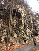 Rock Climbing Photo: Cordelette Arete