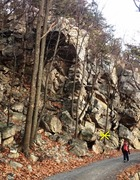 Rock Climbing Photo: Start of Short and Simple