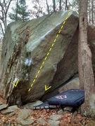 Rock Climbing Photo: Final Judgment, Beehive Boulders.