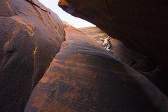Rock Climbing Photo: Ari Lightsey just before the biz!