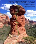 Rock Climbing Photo: Fifty Foot Spire
