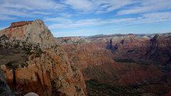 Rock Climbing Photo: West Temple