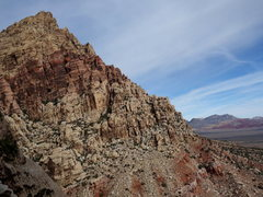 Rock Climbing Photo: looking toward Mt Wilson