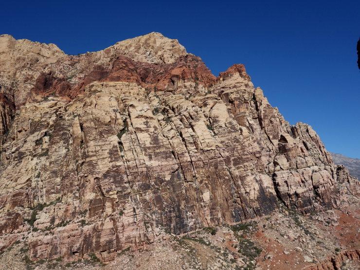 Rock Climbing Photo: Brass Wall