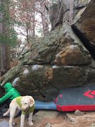 Rock Climbing Photo: Couple ways to go up but working far right is the ...