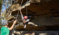 Rock Climbing Photo: Pre-crux