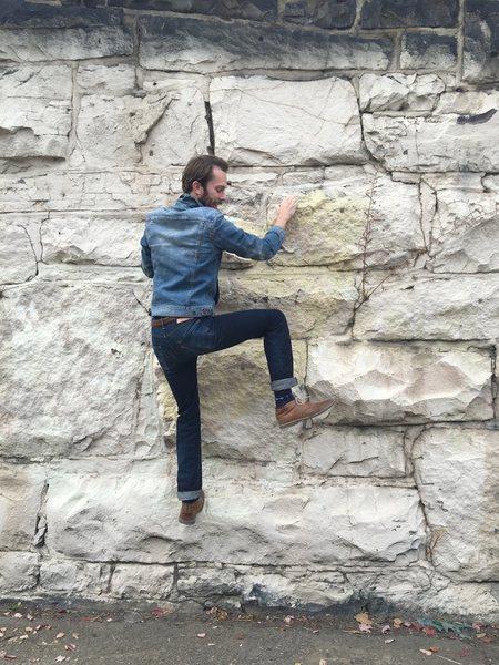 Rock Climbing Photo: Bouldering in Fishtown, Philadelphia.