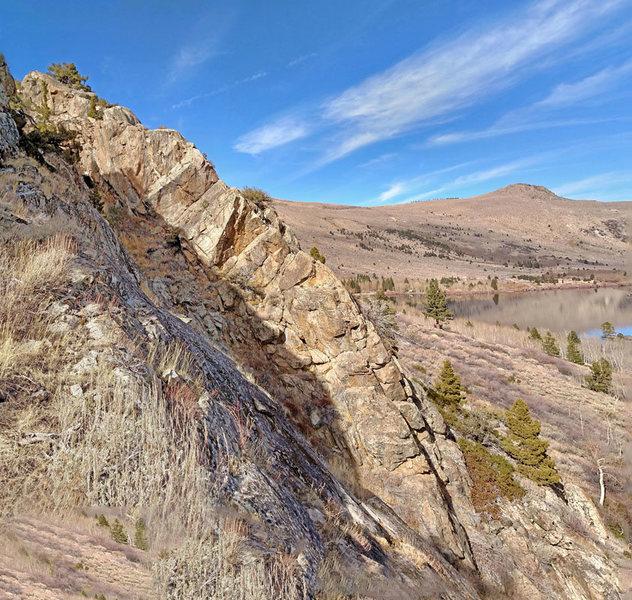 fun ridge of sector 2 from S