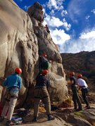 Rock Climbing Photo: More Mission Gorge Madness!!! :)
