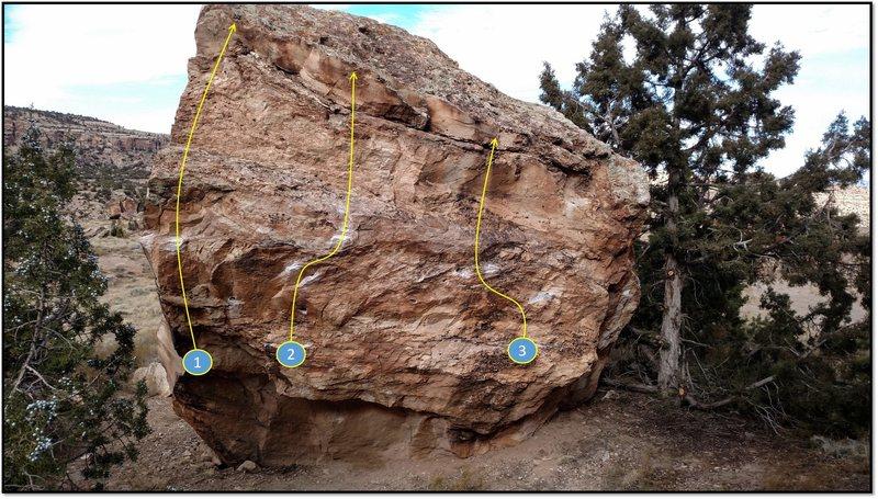Rock Climbing Photo: 2. House of Healing.