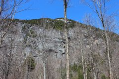 Rock Climbing Photo: View of central area from the woods