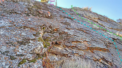 Rock Climbing Photo: Melchsee sector 7: Right side close from E G. Cen...