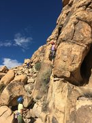 Rock Climbing Photo: Bring out the helmets... we hear there's choss...