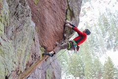 Rock Climbing Photo: The send go....