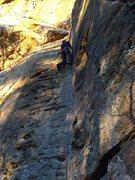 Rock Climbing Photo: Fun and easy. I wish it was longer!