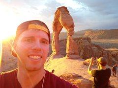 Rock Climbing Photo: Gotta take a selfie