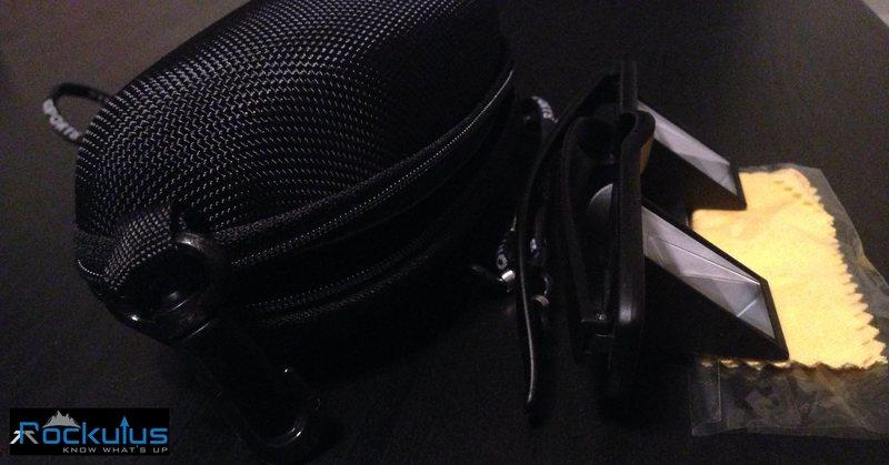 Rock Climbing Photo: Glasses + Hard Case + Neck Strap