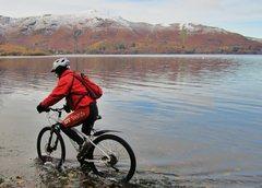 Rock Climbing Photo: Biking Derweantwater