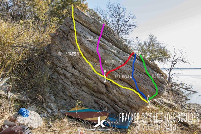 Rock Climbing Photo: Backburner